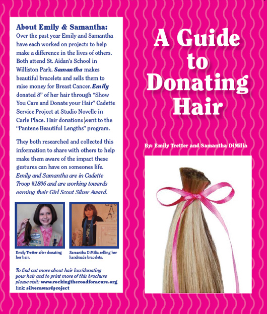 A Guide to Donating Hair