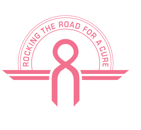 Rocking The Road For a Cure Ribbon Logo